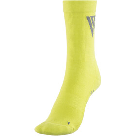 ION Pole Mid Socks lime punch
